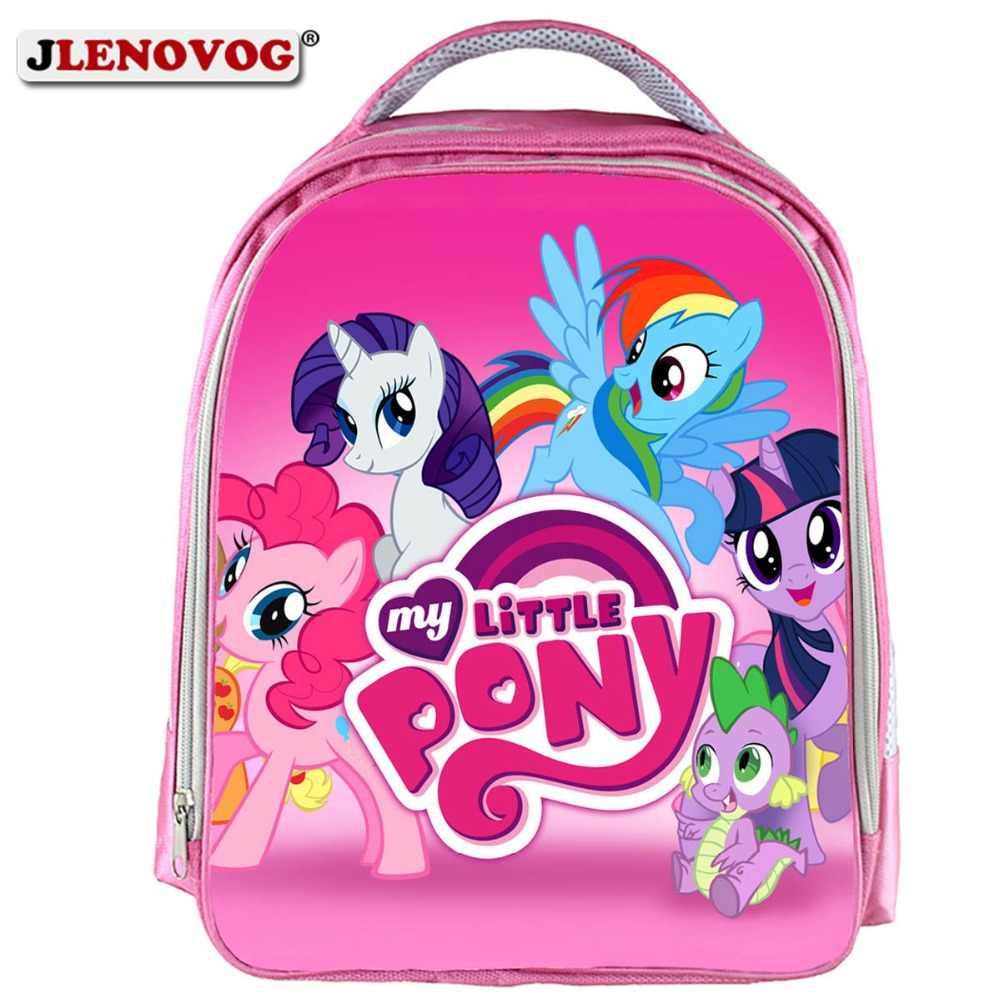2019 My little pony Magic School bags Cute Children small Kindergarten  schoolbag Casual orthopedic Backpack for da182b96c0bd1