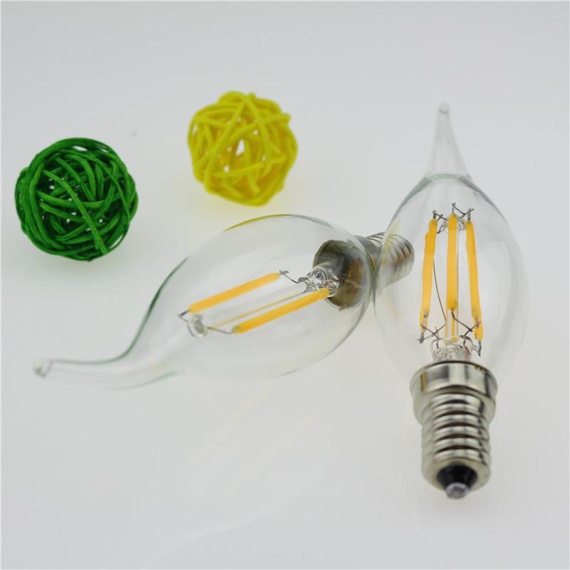 Lâmpadas Led e Tubos do candelabro de cristal lâmpada Formato : Candle