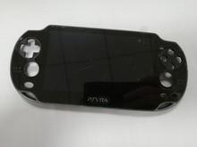 Orijinal OLED Yeni Siyah lcd ekran Ekran için PS Vita 1000 PSV1000 PSV 1000 Dokunmatik Ekran Dijital Montajlı + Çerçeve