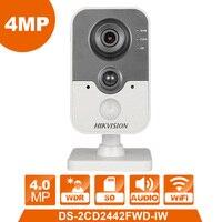 WIFI Camera DS 2CD2442FWD IW hikvision IP Camera Wireless Cube webcam 4.0MP videcam surveillance cam alarm system Webcam