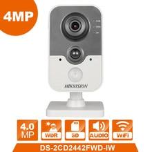 Wi-Fi камера DS-2CD2442FWD-IW hikvision IP камера беспроводная камера Веб-камера 4.0MP видикам камеры скрытого видеонаблюдения сигнализации системы веб-камера