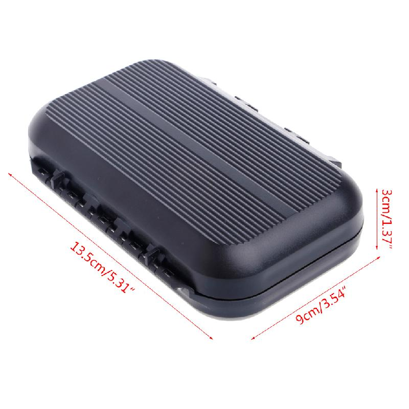 Portable Waterproof Fly Fishing Lure Bait Trout Flies Storage Box Case Container in Fishing Tackle Boxes from Sports Entertainment
