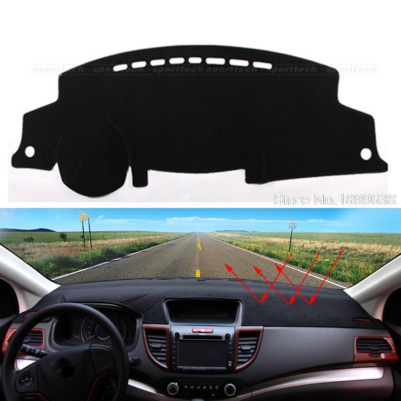 Car dashboard Avoid light pad Instrument platform desk cover Mats Carpets Auto accessories for toyota highlander 2009 - 2016