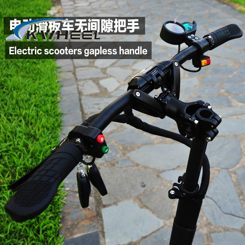 Prix pour Gapless Pliage poignée bar pour Cool électrique scooter