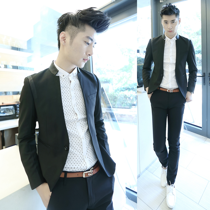 2013 New Fashion Korean Style Men Clothing Casual Suit Male Blazer