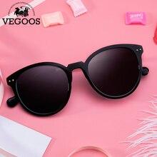 VEGOOS 2016 New Polarized Women Round Sunglasses Brand Designer Fashion Retro Polaroid Sun Glasses oculos de sol feminino #9099