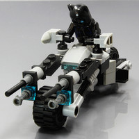 New Building Blocks Super Heroes Avengers Batpod Minifigures The Dark Knight BATMAN BATMOBILE Tumbler BLACK Motocycle