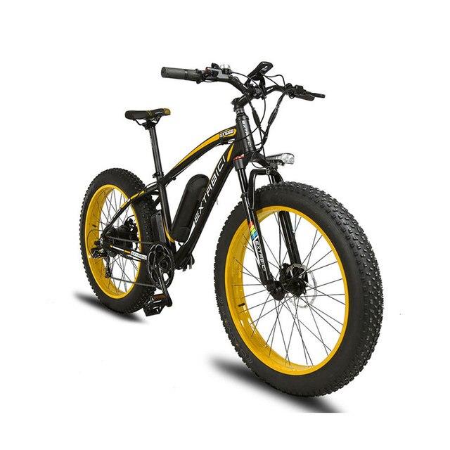 Cyrusher XF660 1000 Вт 48 В 16ah электрический снег велосипед 5 Установка с Smart ЖК-дисплей дисплей 7 Скорость Велосипеды велосипед