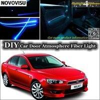 For Proton Waja Impian Wira Interior Ambient Light Tuning Atmosphere Fiber Optic Band Lights Inside Door