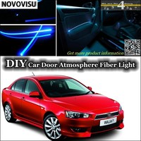 For Proton Waja Impian Wira Interior Ambient Light Tuning Atmosphere Fiber Optic Band Lights Inside Door