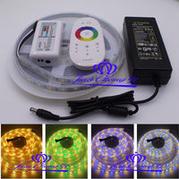 5M 5050 RGBW LED strip Silicon Tube IP67 waterproof+ RGBW Controller+ 5A Power