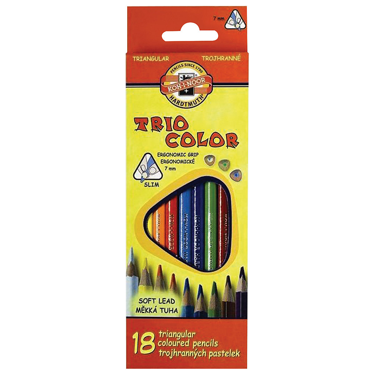 KOH-I-NOOR Wooden Colored Pencils 4792674 colored pencil for boys and girls children sets MTpromo