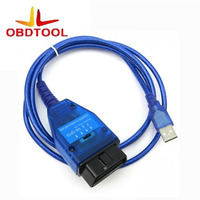 ObdTooL Obd2 Cavo di Diagnostica per VAG 409 VAG KKL Fiat VAG Interfaccia USB Auto Ecu Scan Tool Con FTDI Chip & 4 Vie interruttore