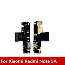 Novo Para Xiaomi Redmi Nota 5A USB Doca de Carregamento Porto + Microfone Para Redmi Nota 5A Geral Modul Carregamento de Dados interface