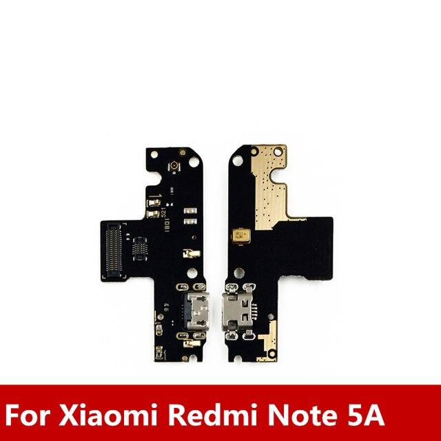 新 Xiaomi Redmi 注 5A USB 充電ドックポート + マイク Redmi 注 5A 一般的な充電 Modul データインタフェース