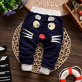 2017 New Spring&Autumn baby pants cotton star pattern kids pants baby girls boys pants
