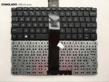 US English Keyboard For HP PAVILION 10-E black without frame keyboard Layout