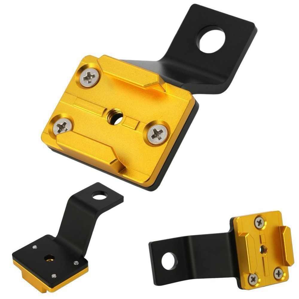 Новые CNC рамки из алюминиевого сплава адаптер крепления для GoPro Hero SJcam камеры База держатель для автомобиля мотоцикл зеркало заднего вида