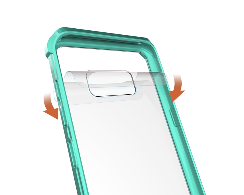 Հիբրիդային TPU Frame Clear Crystal Back Cover Armour - Բջջային հեռախոսի պարագաներ և պահեստամասեր - Լուսանկար 5