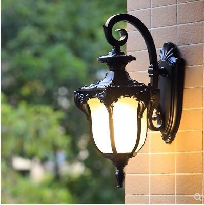europeu ao ar livre lampada de parede 02