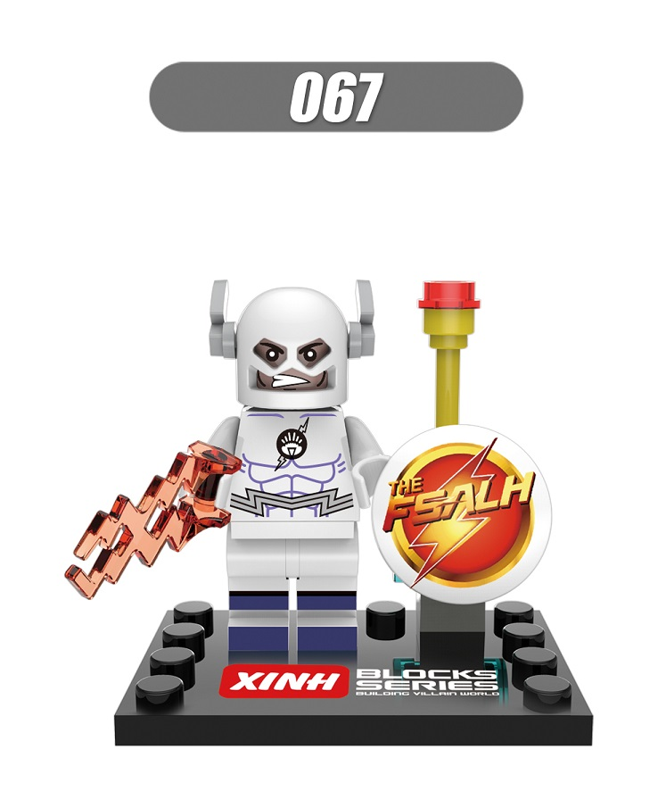 Super Heroes Star Wars The FLASH Barry Allen White Young Justice Bricks Building Blocks Collection Toys for children Gift XH 067