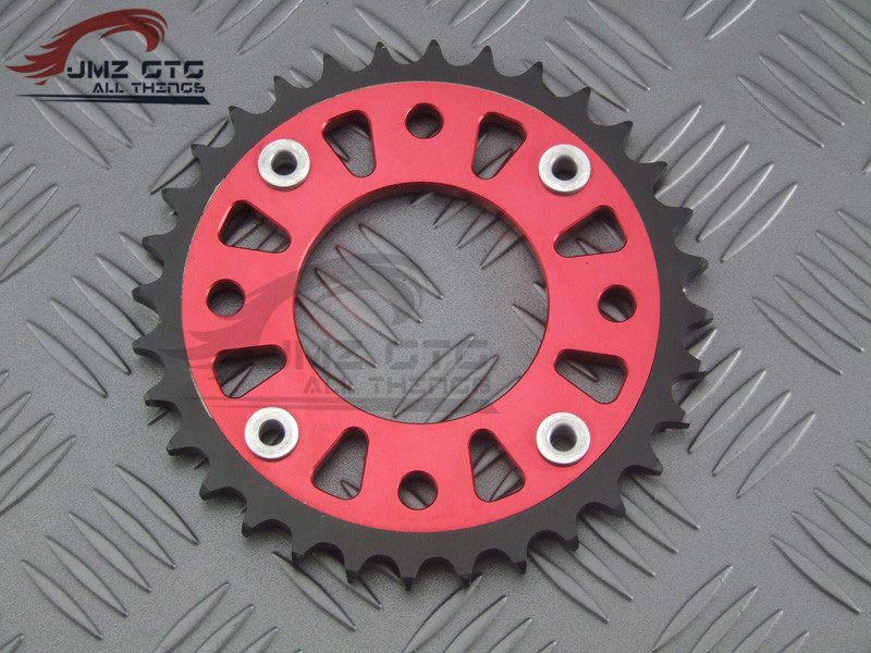 For HONDA GROM MSX125 MSX125SF Motorcycle CNC Rear Sprocket For 420 specifications chain