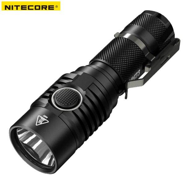 2018 New Nitecore MH23 CREE XHP35 HD LED 1800 Lumens USB Rechargeable Flashlight topsale nitecore 1800 lumens mh23 18650 rechargeable battery cree xhp35 hd led torch waterproof mini flashlight free shipping