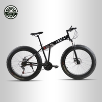 Love Freedom Mountain Bike 26 4 0 Fat Bike 21 Speed Bicycle Double Disc Brake Shock