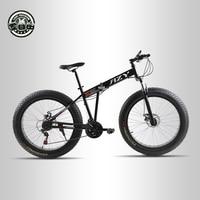 Love Freedom Mountain Bike 26 4 0 Fat Bike 21 Speed Bicycle Double Disc Brake Shock