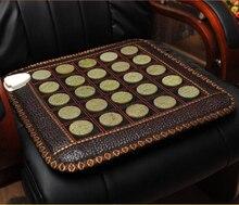 Free Shipping massage heat jade cushion Health Benefits Body Care Jade Mat Far Infrared Heat Jade Cushion 45*45CM