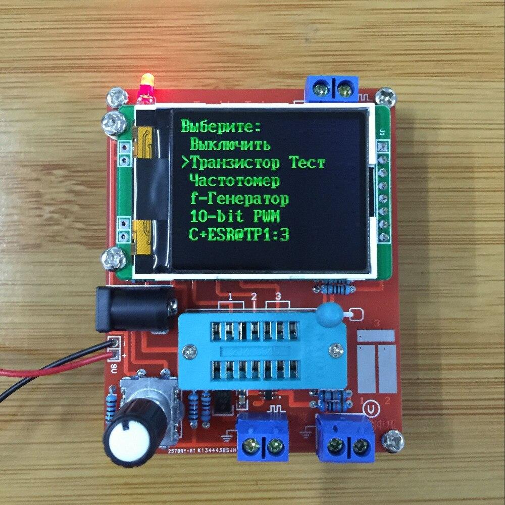 Image 5 - 2018 russo mega328 diy kits transistor tester lcr capacitância  esr medidor pwm quadrado onda gerador de sinal freqüênciatester  lcrgenerator metermeter lcr