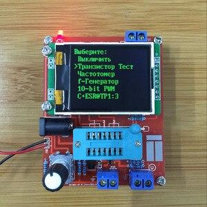 Image 5 - Mega328 Kit DIY de transistores, probador de transistores, medidor de ESR de capacitancia de diodo LCR, PWM, generador de señal de frecuencia de onda cuadrada, 2018