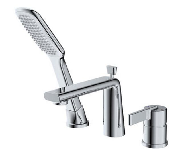 Free shipping Luxury 3 piece Set Faucet Bathroom Mixer Deck Mounted Sink  Tap Basin Faucet SetCompare Prices on 3 Piece Bathroom Sink Faucet  Online Shopping  . 3 Piece Bathroom Sink Faucet. Home Design Ideas