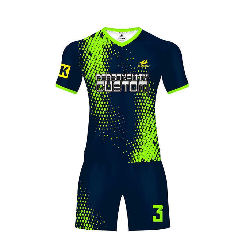 ... 2019 encuentro sublimado ropa deportiva niños adultos equipo de  camisetas de fútbol formación juventud fútbol camisa ... b26b5a0a627dc