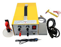 2in1 Pulse Sparkle Spot Welder Gold Silver Platinum Jewelry Welding Machine 30A 220V/110V