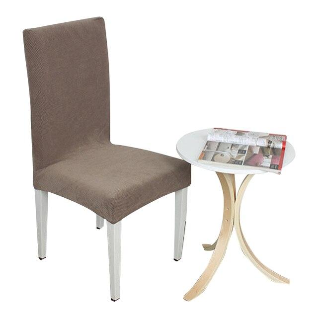 Schön Grau Hohe Qualität Kreuz Zurück Stuhlhussen Küche Sitzbezüge Esszimmer  Dekoration Stretch Stuhl Schonbezug Schutz