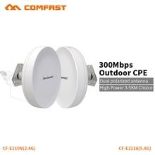COMFAST wifi router CPE al aire libre repetidor inalámbrico 300 mbps router puente repetidor para proyecto de largo alcance cámara IP wifi al aire libre