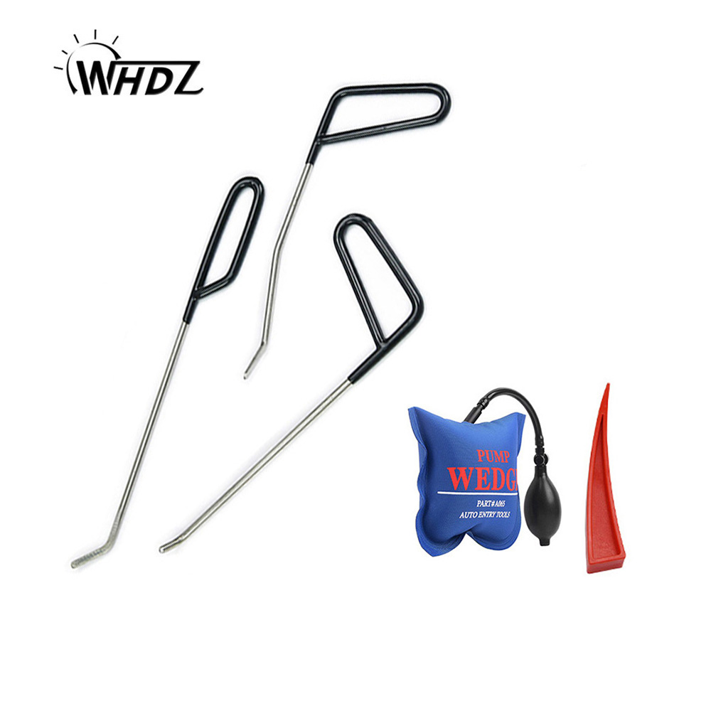 цены WHDZ PDR Tools Kit Car Dent Removal Rod Hook Repair Tool Set PDR Rod Hooks Car Dent Removal Paintless Dent Repair Hand Tool set