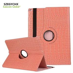 SZEGYCHX Tablet Case For iPad mini 1 2 3 Case 360 Rotation Crocodile Leather Protective Sleeve Rotary Tablet Stylus Cover & gift