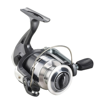 Fishing Reel Pre-Loading Spinning Wheel Black 4 BB