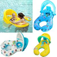 Inflatable Swimming Laps Mother Baby Float Swimming Ring Floating Pool Water Party Toys Pool float Swimming Ring