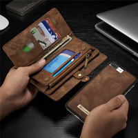 Luxury Brand For IPhone 7 6 6S Plus Case Genuine Leather Flip Cover For IPhone7 7Plus