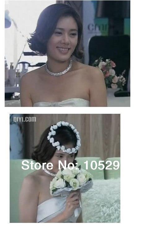 2016 Bride Jewellery Sets 925 Sterling Silver SW ELEMENT Crystal Necklace Stu Earring 4 Lines Bracelet Engagement Wedding