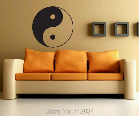 Free Shipping Home Decorators free shipping home decorators Bzd Free Shipping Home Decoration Ying Yang Art Decals Home Decor Vinyl Wall Stickers