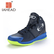 Баскетбольная тенденции тапки баскетбол пу легкий спортивная кроссовки синий цвета стиль