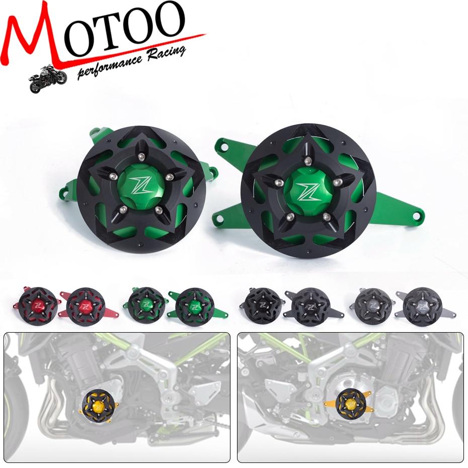 Моту - 2017 новый двигатель протектор для Kawasaki Z900 2017 Чехол предохранитель двигателя слайдер Крышка протектор комплект
