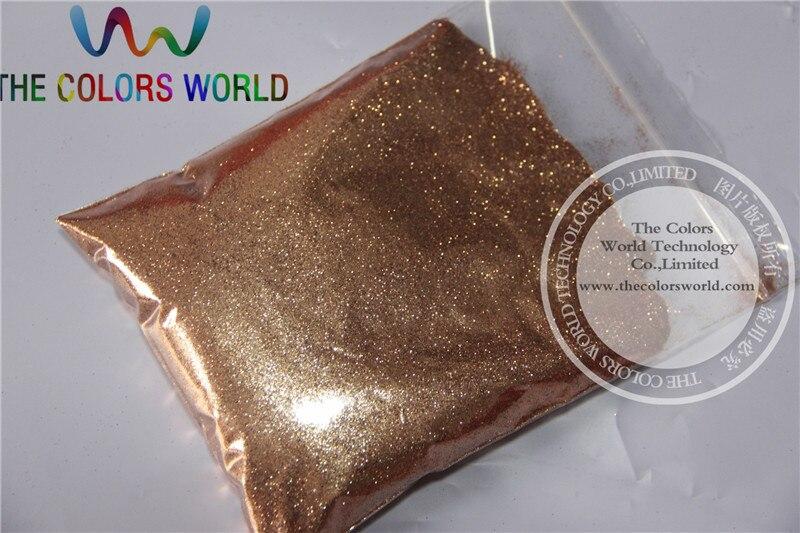 TCM0400 light copper Color Glitter powder -0.2MM nail glitter hexagon dazzling glitter powder,DIY Flash powder page 2 page 8 glitter powder catalogue regular color