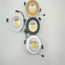 1X LED COB Super Bright Dimmable Led downlight light Ceiling Spot Light 3w 5w 7w 12w ceiling recessed Lights Indoor Lighting