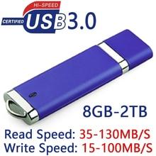 15-130MB/S Read High Speed USB 3.0 Flash Drive 128GB 16GB 32GB 64GB HOT Pen Drive 512GB 1TB 2TB Memory Stick USB Key Gift 256GB