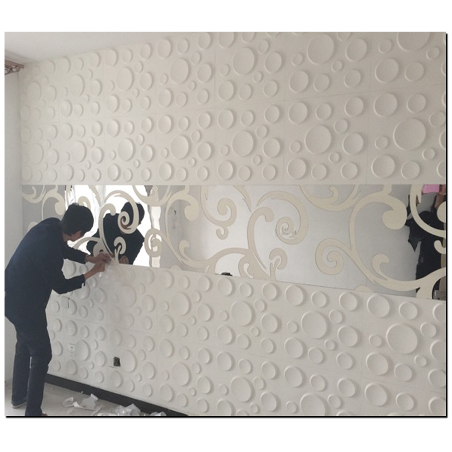 Home Decor Surface Fashion 3d Diy Mirror Wall Stickers
